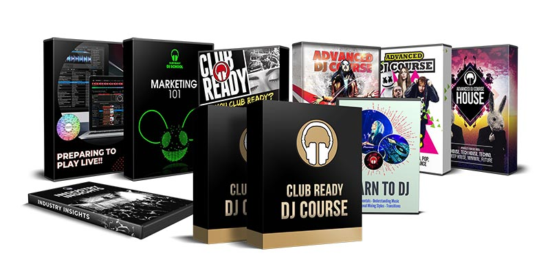Club Ready DJ School Package Image